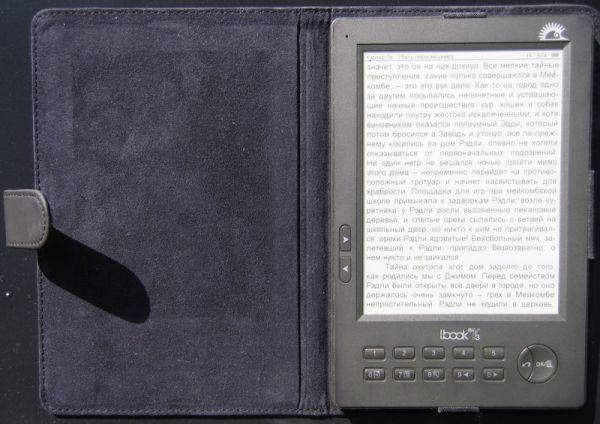 e-ink LBook Reader V3: вот так выглядит e-ink экран на пляже